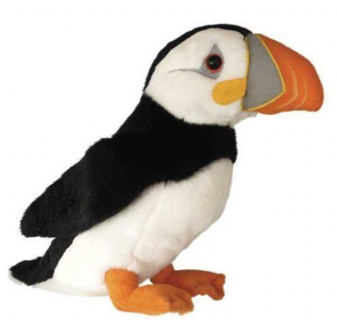 "PUFFIN 12"" COLLECTABLE  PETER THE PUFFIN STUNNING PLUSH TOY"